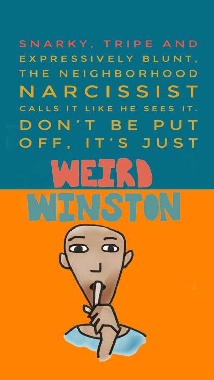Weird Winston Sticker Pack