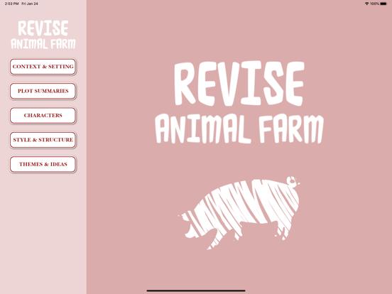 Revise Animal Farm screenshot 5