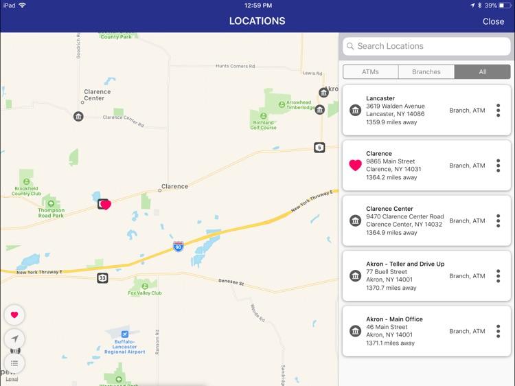 Bank of Akron Biz for iPad screenshot-6