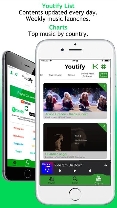 Youtify + for Spotify Premium screenshot three