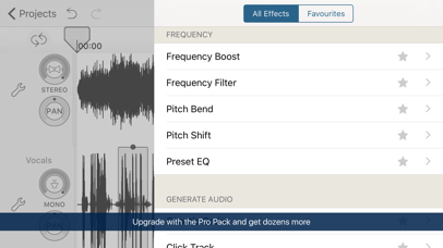 Screenshot for Hokusai Audio Editor in Chile App Store