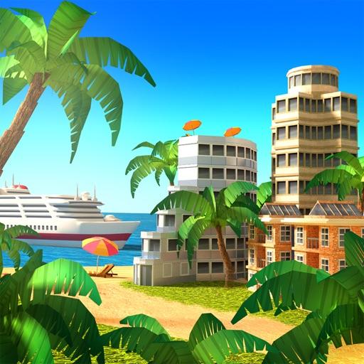 Paradise City Island Sim iOS App