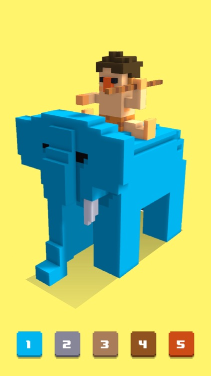 Pixel Art 3d - Color by Number screenshot-4