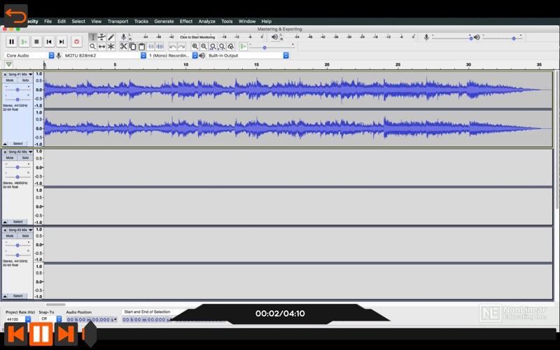 Audacity Video Manual By AV for Mac
