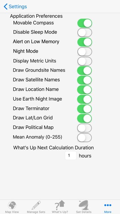 Satellite Tracker screenshot-9