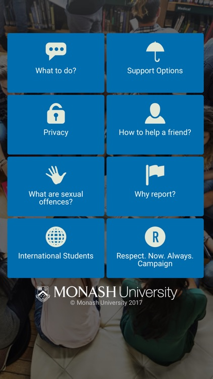 Monash Respect Now Always