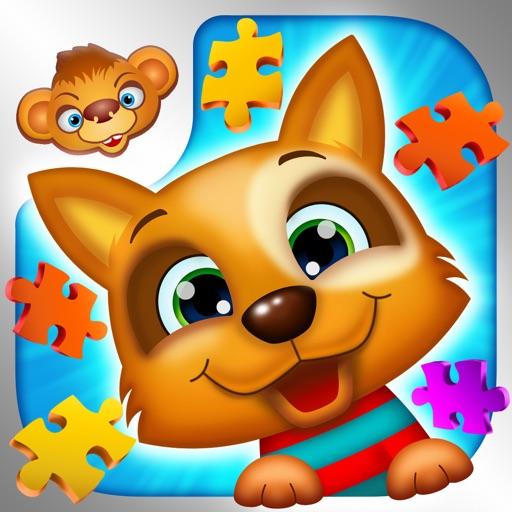 123 Kids Fun ANIMATED PUZZLE Free -Паззл для детей