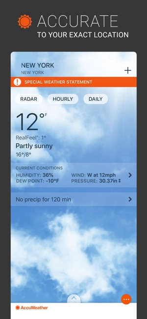 accuweather android app old version