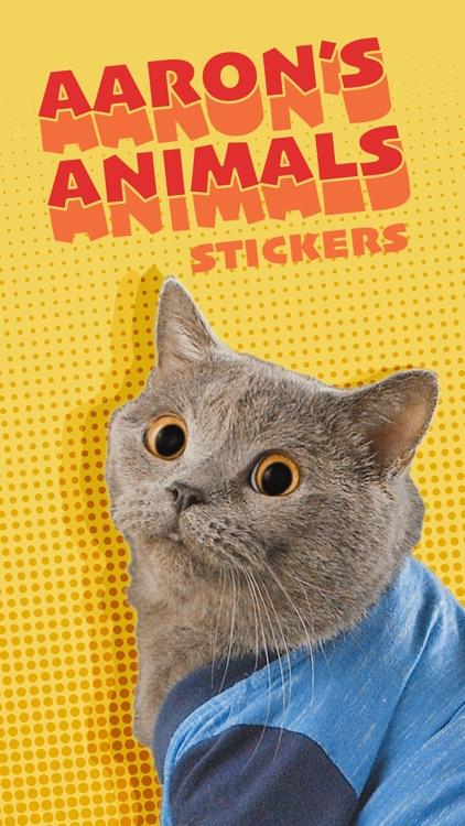 Aaron's Animals Stickers