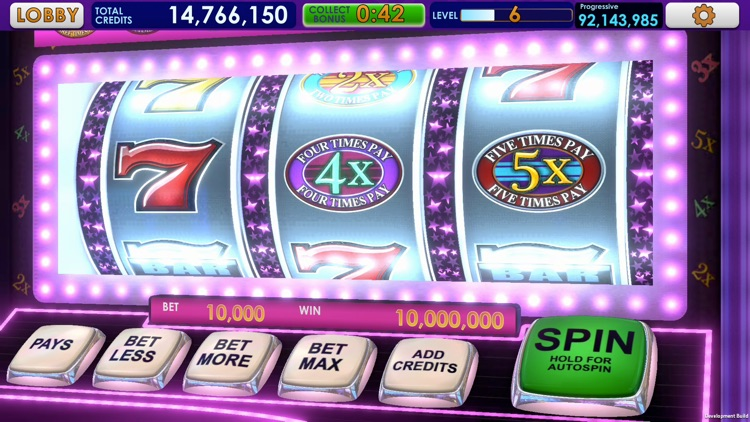 Triple 7 Deluxe Classic Slots screenshot-1