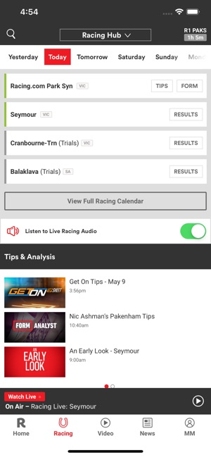 Racing com on the App Store