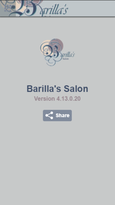 Barilla's Salon screenshot two