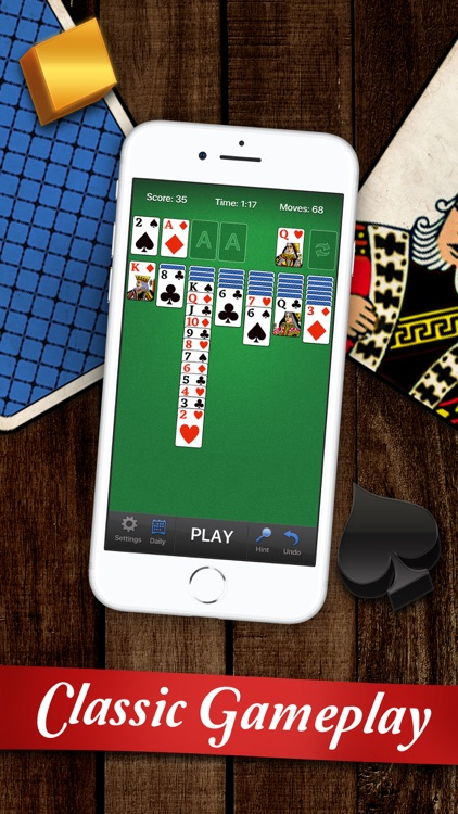 Classic Solitaire Card Game•