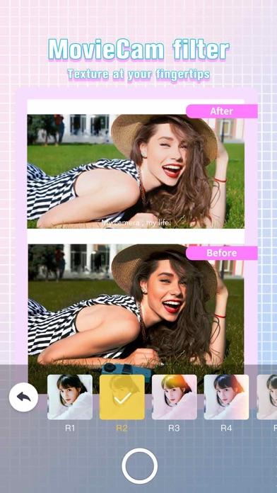 Screenshot for Camera360 - Selfie Sticker Cam in Philippines App Store