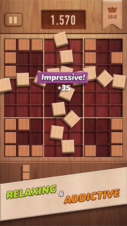 Woody 99 - Sudoku Block Puzzle screenshot-3