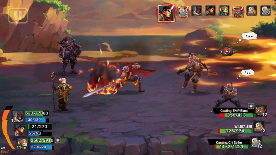 Battle Chasers: Nightwar App 截图