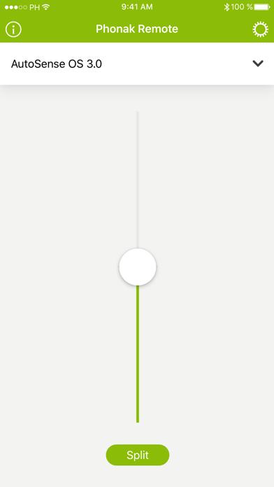 Screenshot for Phonak Remote in Denmark App Store