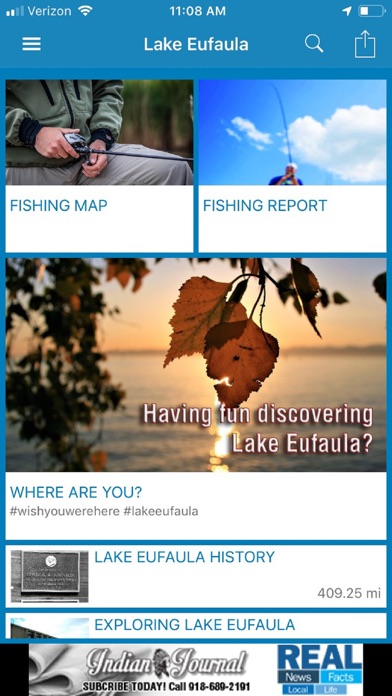 Explore Lake Eufaula screenshot two