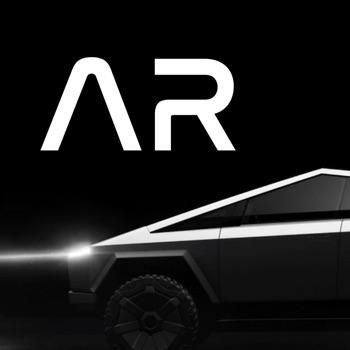 AR Cybertruck Logo