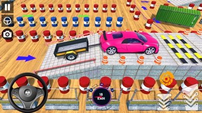 駐車場:トレーラー挑戦ドライビングスクールのテストライセンスのおすすめ画像2