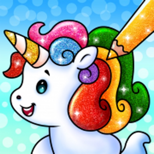 Unicorn Coloring Book Games
