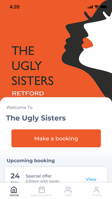 The Ugly Sisters screenshot one