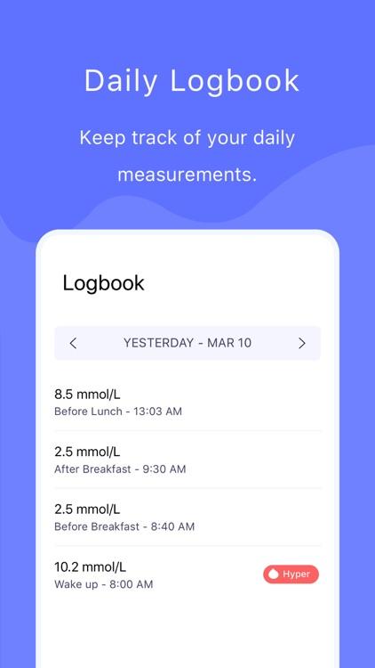 Sukar - Glucose & Diabetes App screenshot-3