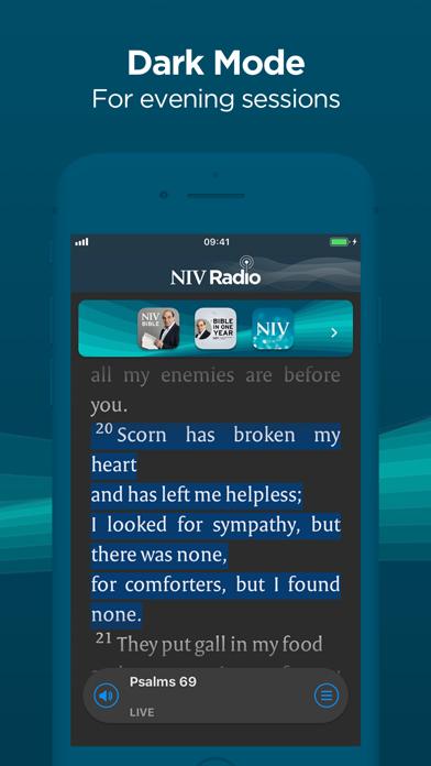 NIV Radio screenshot three