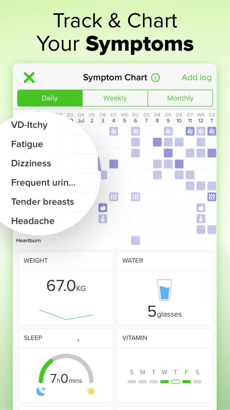 Pregnancy Tracker゜ Screenshot