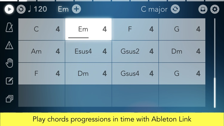 Navichord Lite chord sequencer screenshot-3