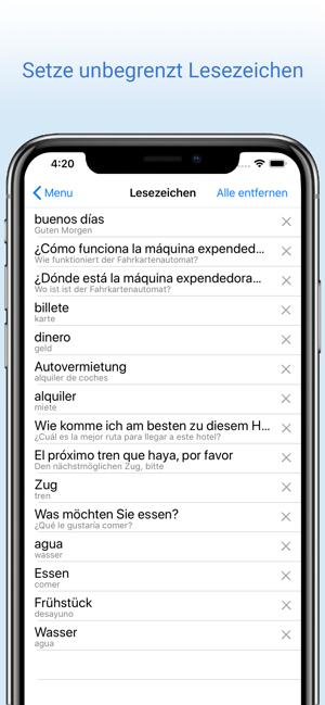 Deutschspanisch Wörterbuch On The App Store
