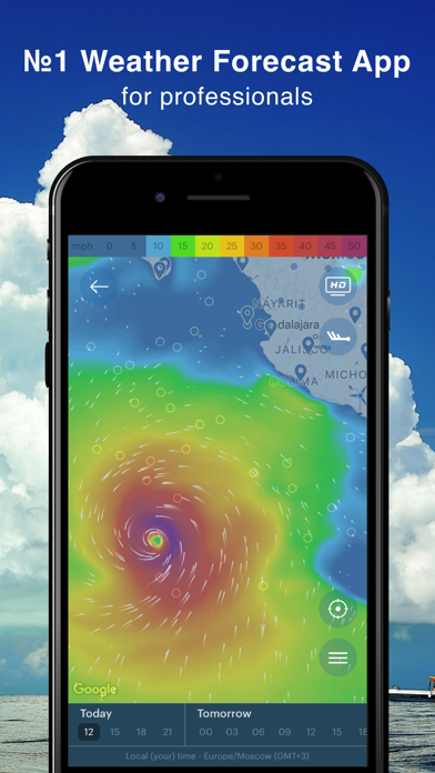 Windy: forecast for surfing Screenshot