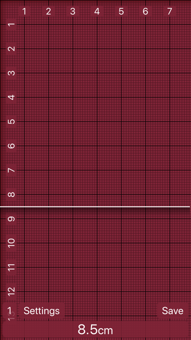 Ruler 2.0 - inch, mm, cm screenshot two