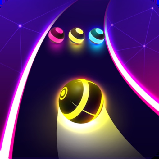 Download Dancing Road: Color Ball Run! free for iPhone, iPod and iPad