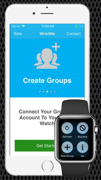 Wrist for GroupMe app image