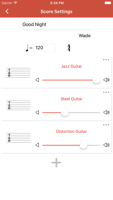 Guitar Notation Pro screenshot four
