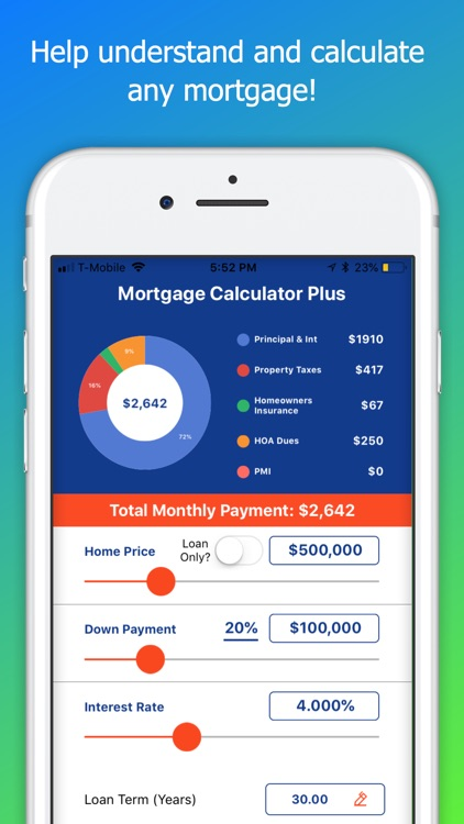 Mortgage Calculator Plus screenshot-0