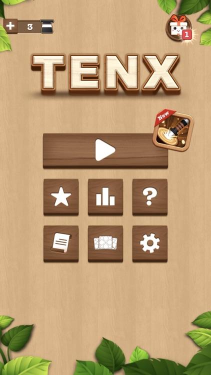 TENX - Wooden Number Puzzle screenshot-4