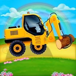 Assemble Construction Trucks