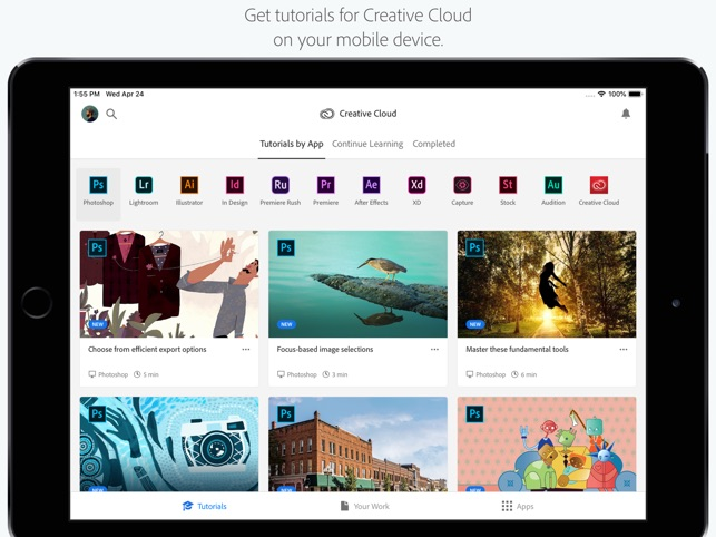 Adobe Creative Cloud on the App Store