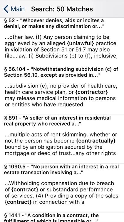 CA Civil Code 2020