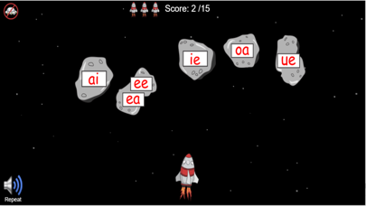 Long Vowel Rocket Game screenshot three