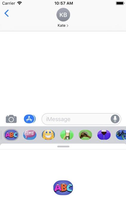 Text-Emojis Stickers