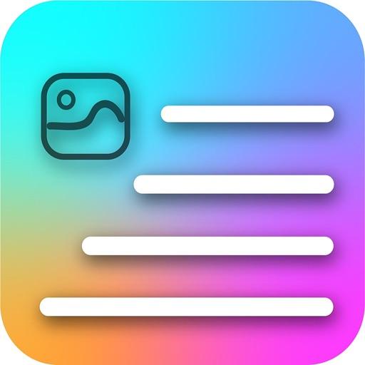 Captions-IG: Fonts & Spaces