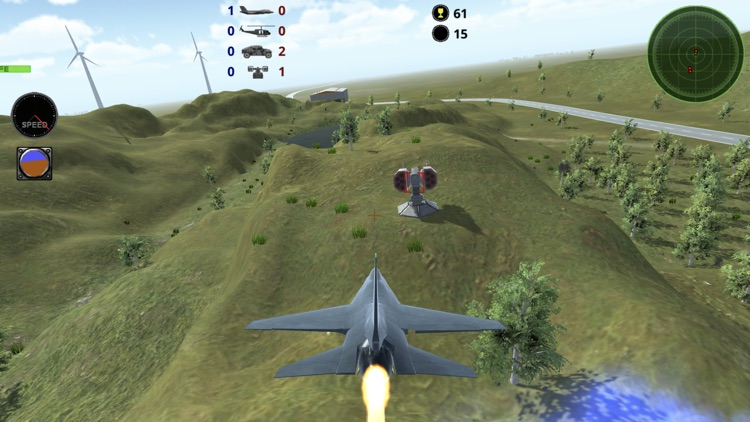 Fighter 3D Lite - Air Combat screenshot-3