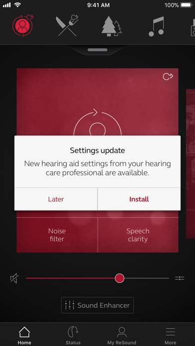 Screenshot for ReSound Smart 3D in Brazil App Store
