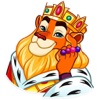 Funny Lion King Sticker app description and overview