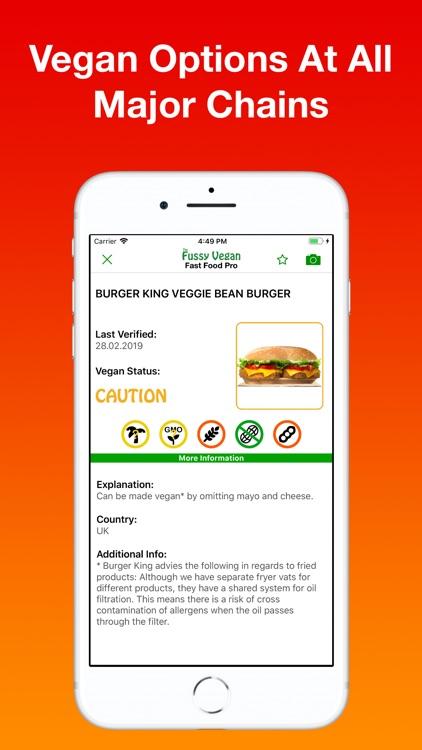 Fussy Vegan Fast Food Pro screenshot-4