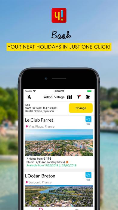 Screenshot for Yelloh! Village Camping in Belgium App Store