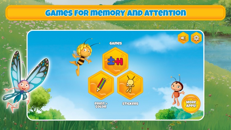Maya the Bee's gamebox 1